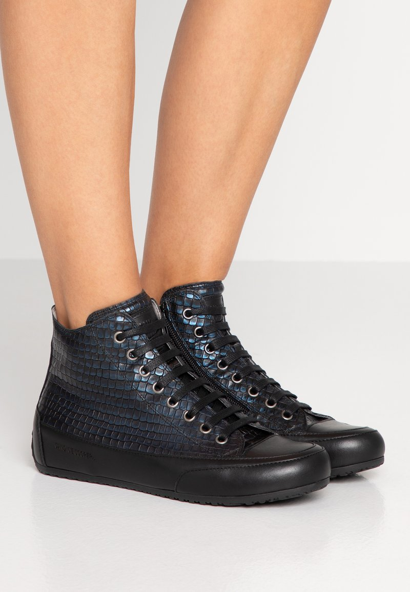 Candice Cooper - PLUS - Sneakers high - ninja blu/nero