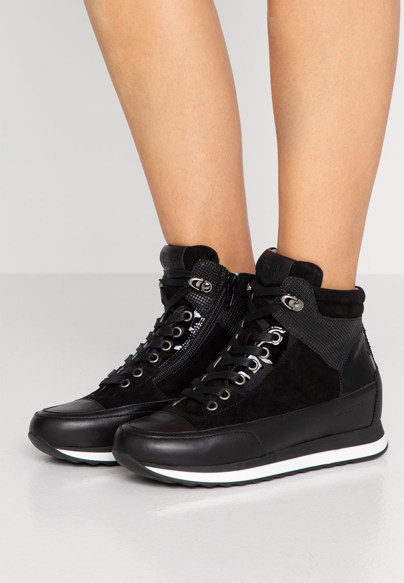 Candice Cooper - LOCKWOOD - Sneakers high - vintage nero