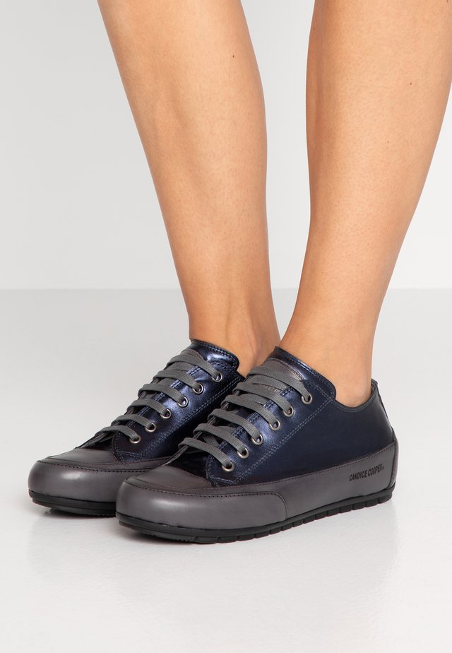 ROCK - Sneaker low - lux notte/tamponato antracite