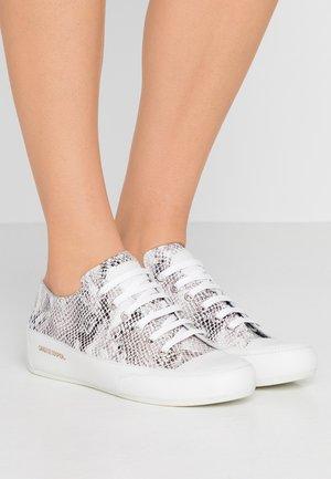 ROCK  - Sneakers - terra/bianco