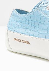 Candice Cooper - ROCK 01 - Baskets basses - cielo/bianco - 2