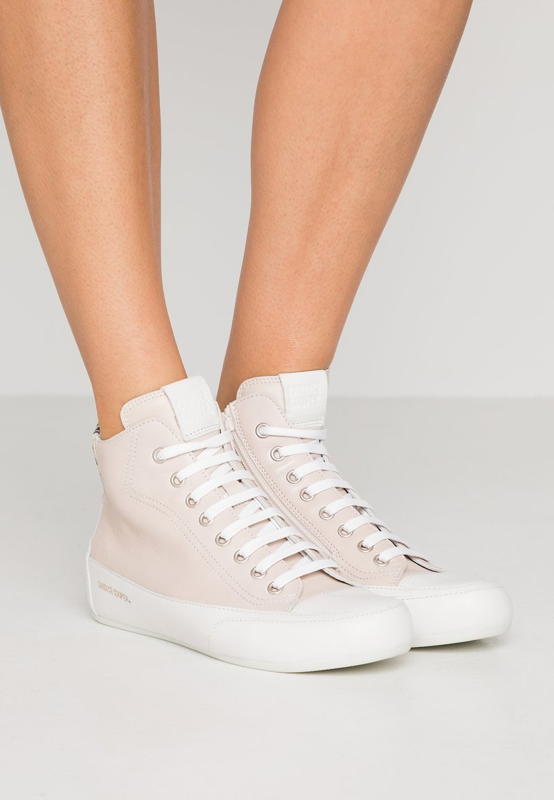 Candice Cooper - MONROE - Sneakers high - tamp sandy/bianco
