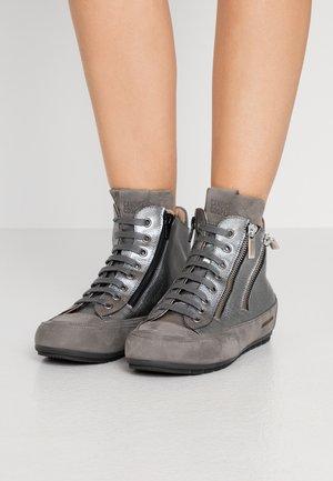 LUCIA ZIP - Vysoké tenisky - gibson acciaio/tamponato antracite