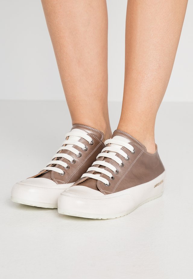 ROCK - Trainers - light grey/panna
