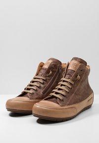 Candice Cooper - PLUS 04 - Sneakers high - cardiff legno/base tamp tortora - 4