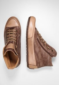Candice Cooper - PLUS 04 - Sneakers high - cardiff legno/base tamp tortora - 3