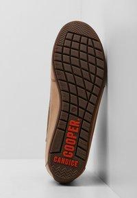Candice Cooper - PLUS 04 - Sneakers high - cardiff legno/base tamp tortora - 6