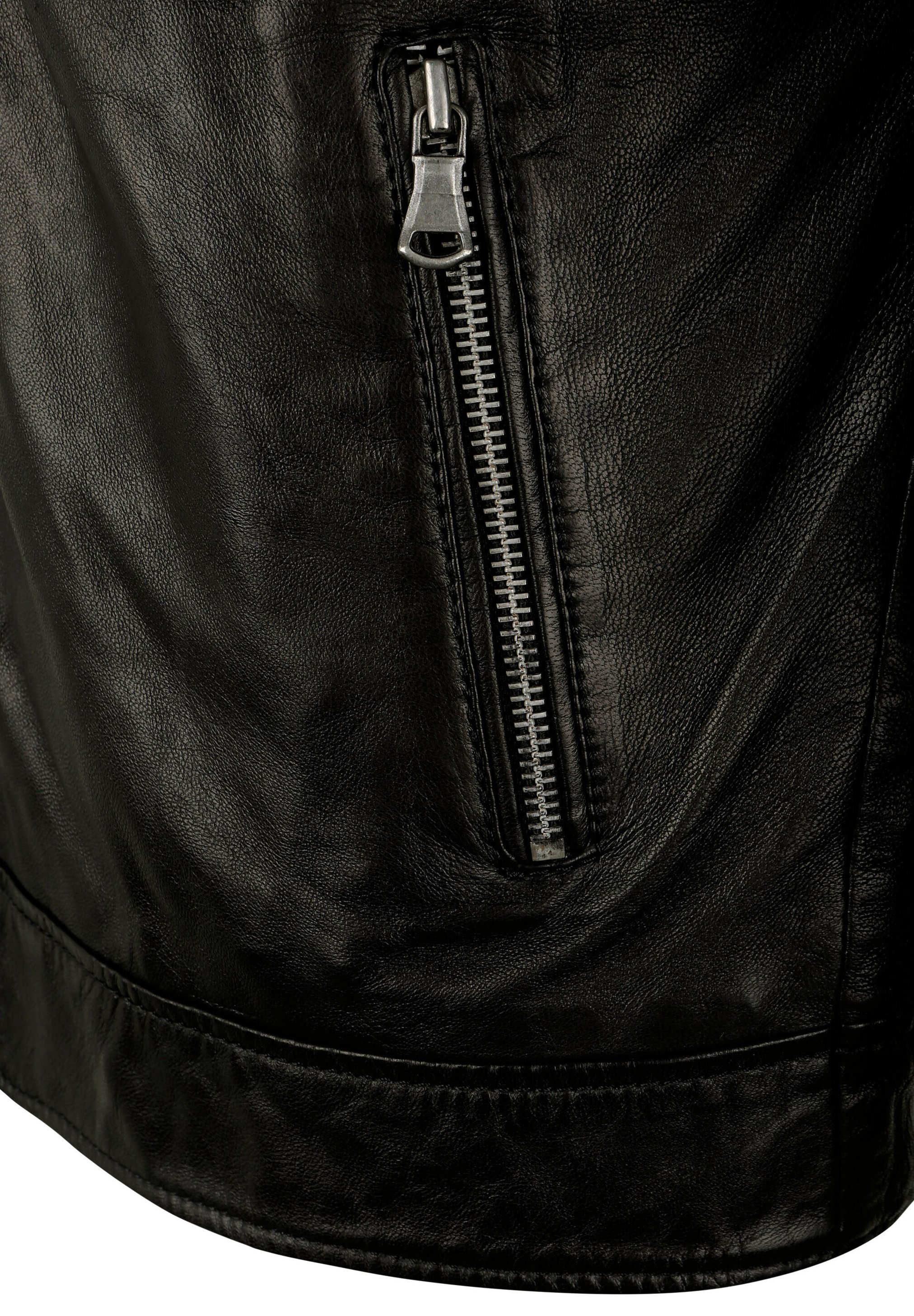 Capitano IOWA - Leather jacket - black