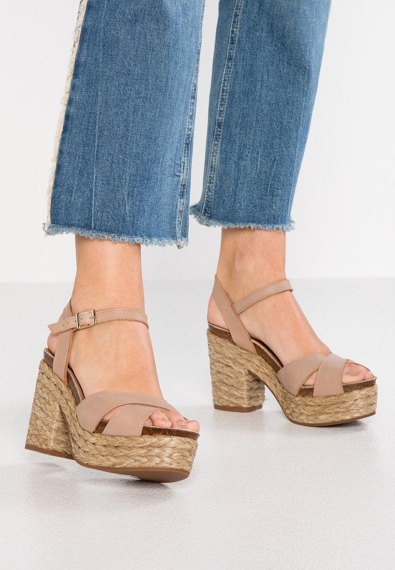 Carmela - High Heel Sandalette - taupe