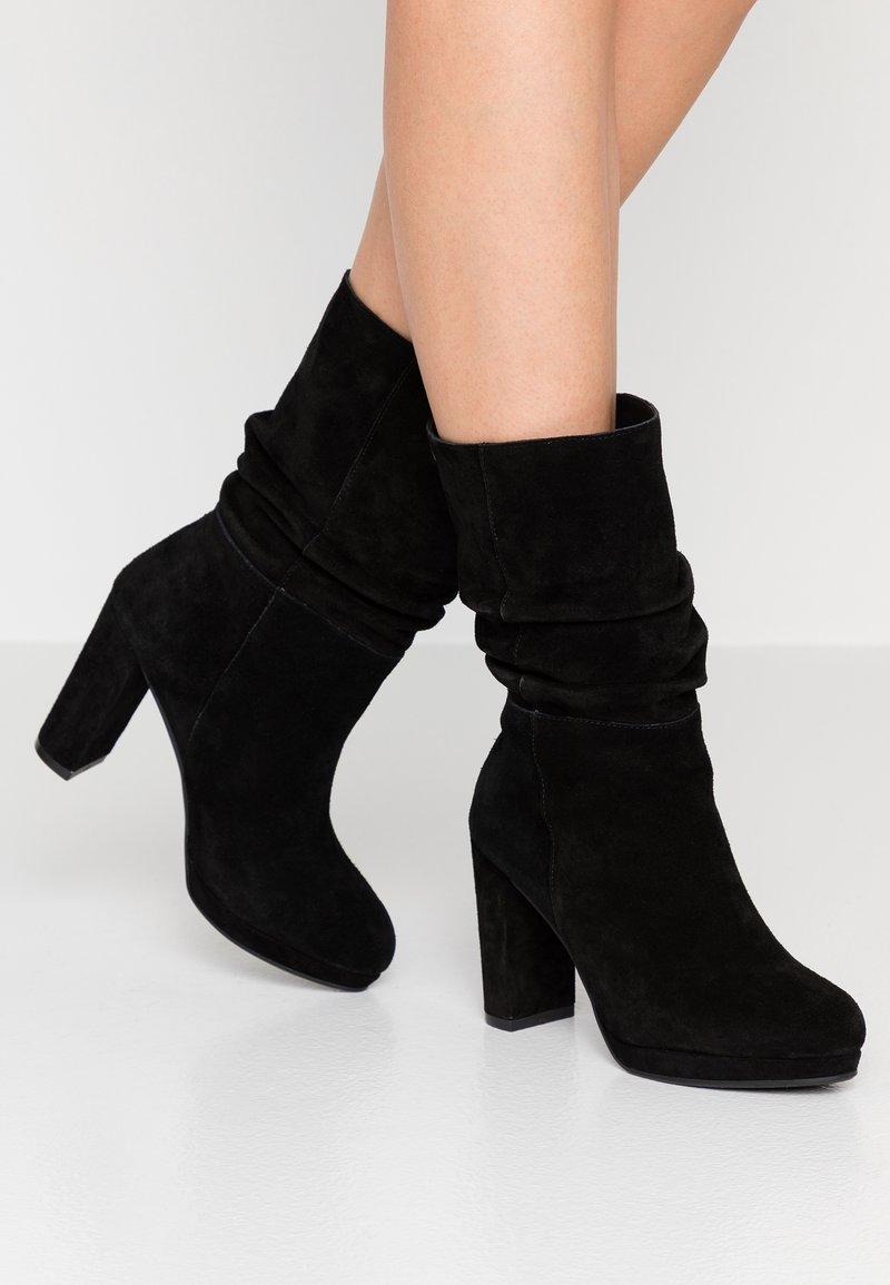 Carmela - High heeled boots - black