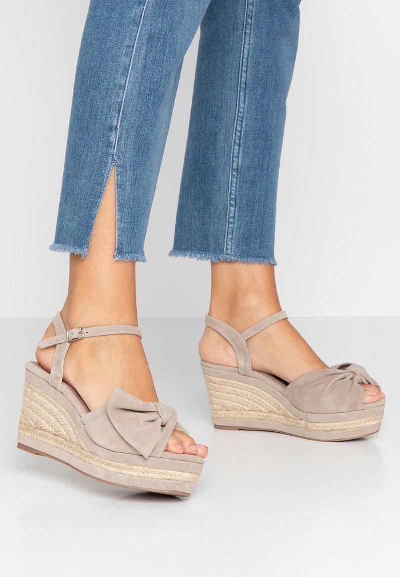 Carmela - High heeled sandals - taupe