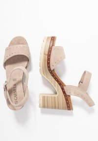 Carmela - High heeled sandals - taupe - 3