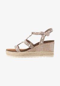 Carmela - Wedge sandals - taupe - 1
