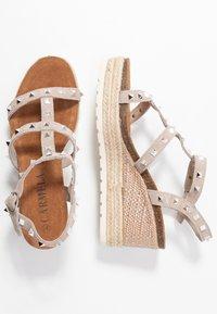 Carmela - Wedge sandals - taupe - 3