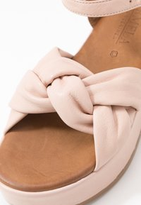 Carmela - Korkeakorkoiset sandaalit - nude - 2