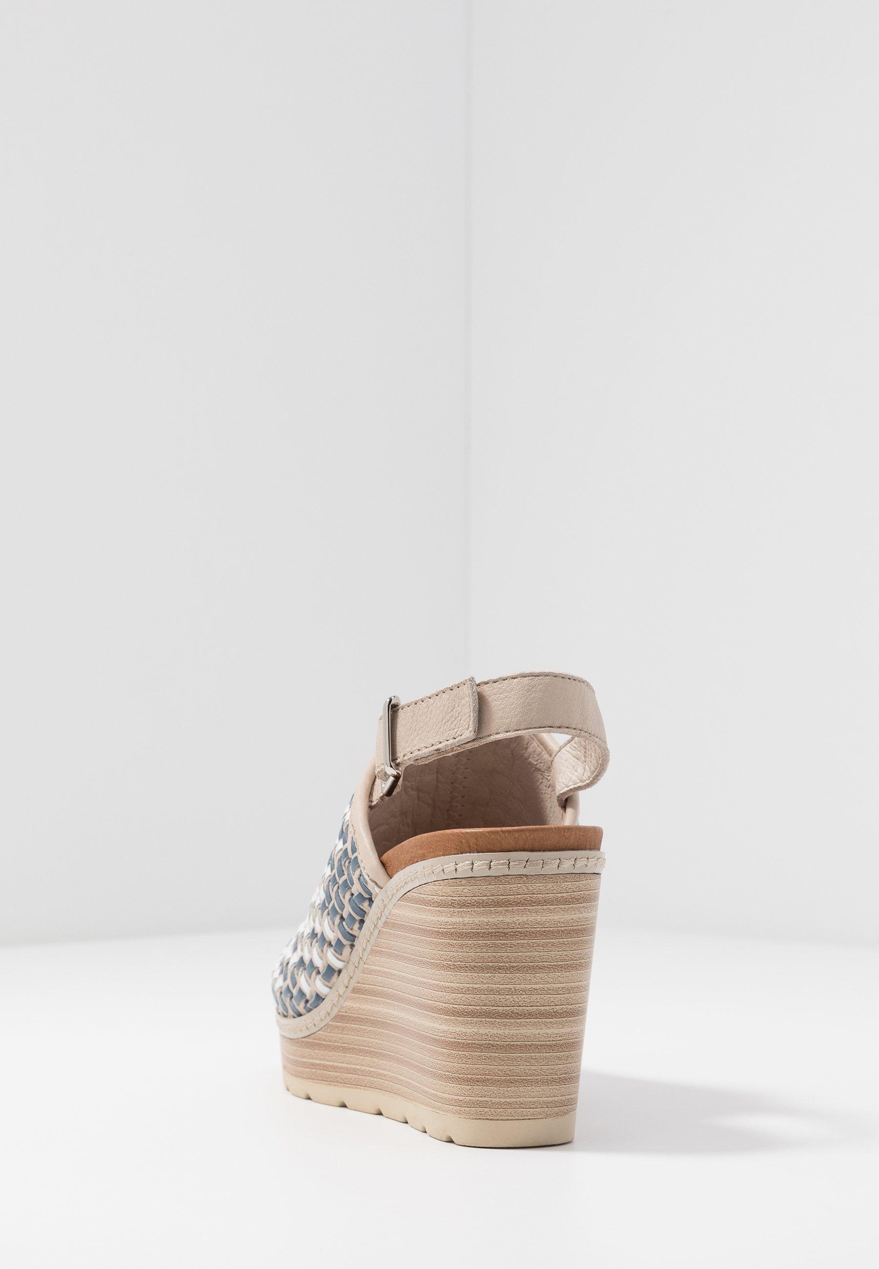 Carmela Sandaler Med Høye Hæler - Jeans