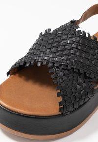 Carmela - Sandály na platformě - black - 2