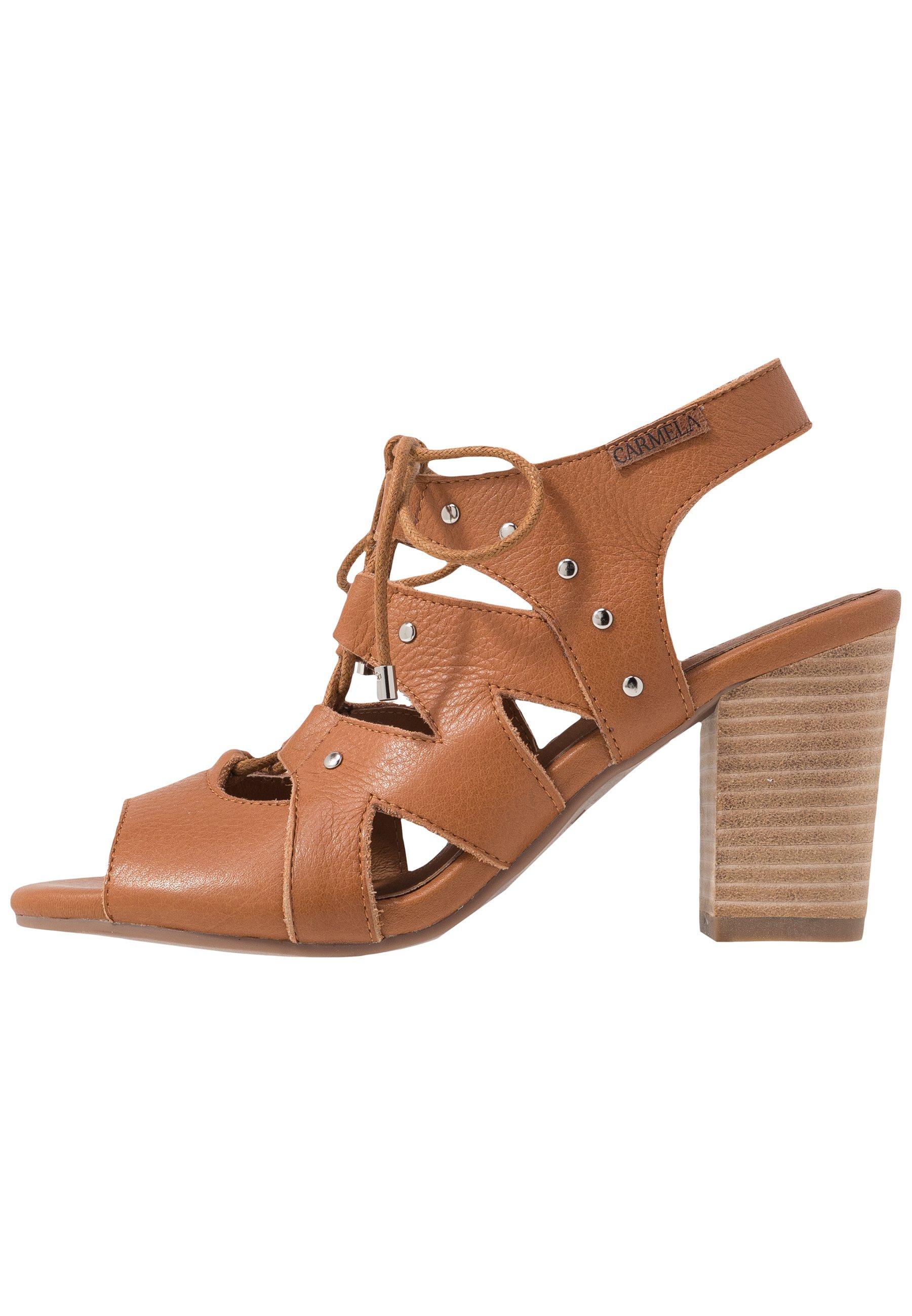 Carmela Højhælede sandaletter / Højhælede sandaler - camel CVhFX