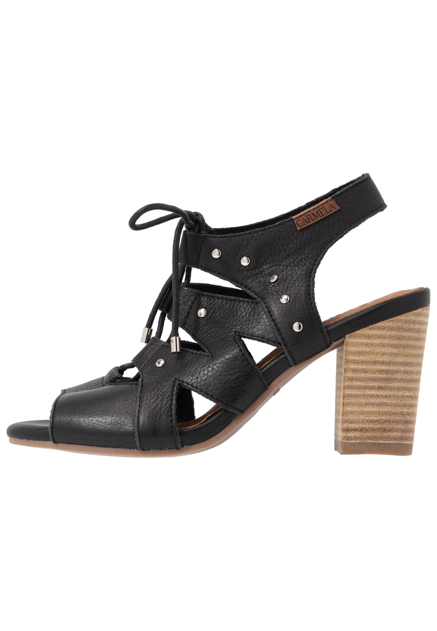 Carmela Højhælede sandaletter / Højhælede sandaler - black