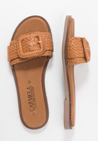 Carmela - Matalakantaiset pistokkaat - camel - 3