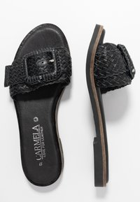 Carmela - Matalakantaiset pistokkaat - black - 3