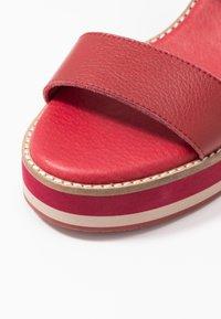 Carmela - Sandály na vysokém podpatku - burgundy - 2