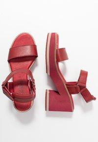 Carmela - Sandály na vysokém podpatku - burgundy - 3