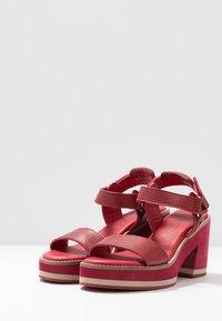 Carmela - Sandály na vysokém podpatku - burgundy - 4