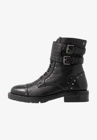 Carmela - Cowboy-/Bikerlaarsjes - black - 1