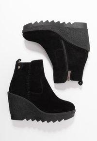 Carmela - High heeled ankle boots - black - 3