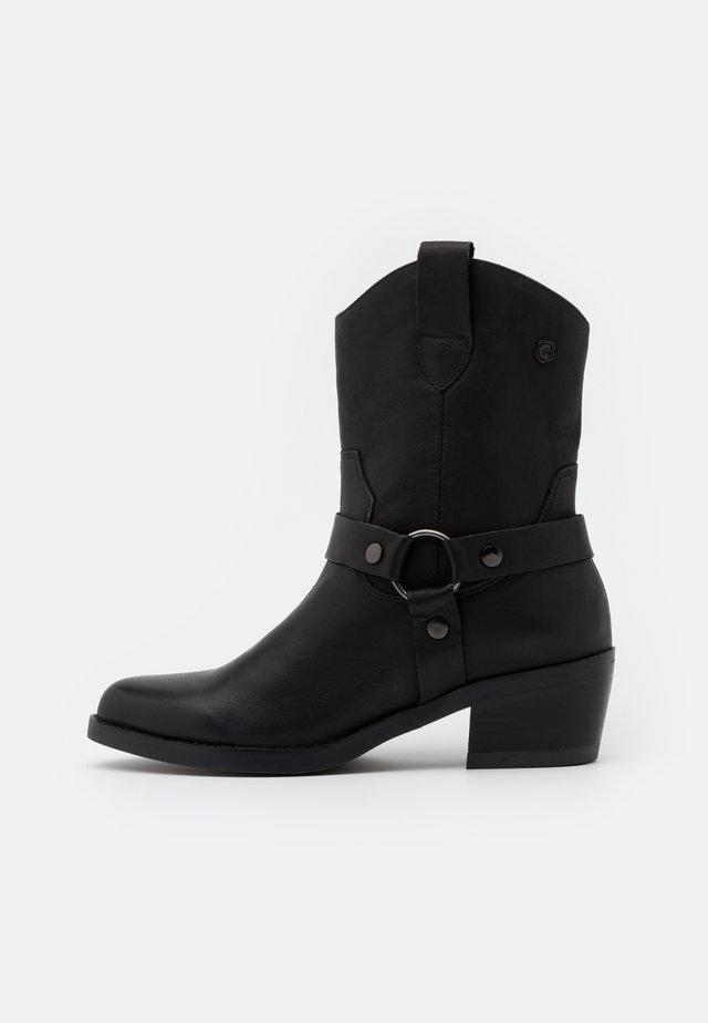 LADIES BOOTS  - Santiags - black