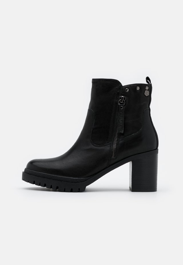 LADIES BOOTS  - Korte laarzen - black