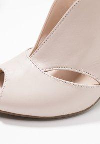 Carvela Comfort - ARABELLA - Høye hæler med åpen front - nude - 2