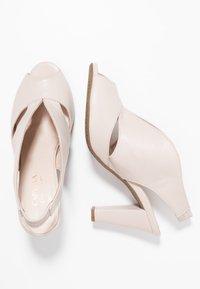 Carvela Comfort - ARABELLA - Høye hæler med åpen front - nude - 3