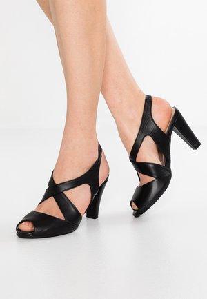 ANNABEL - Sandales à talons hauts - black