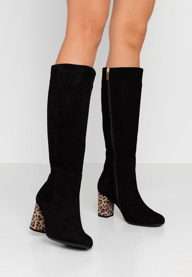 VEIL - Vysoká obuv - black