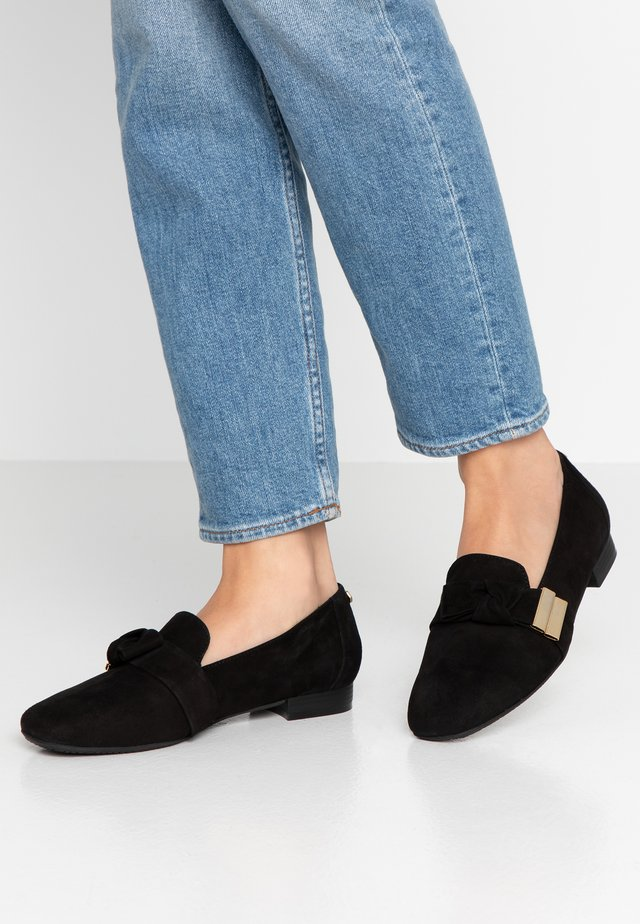 CAMDEN - Slipper - black