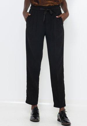 CAROTTE  - Pantalon classique - black