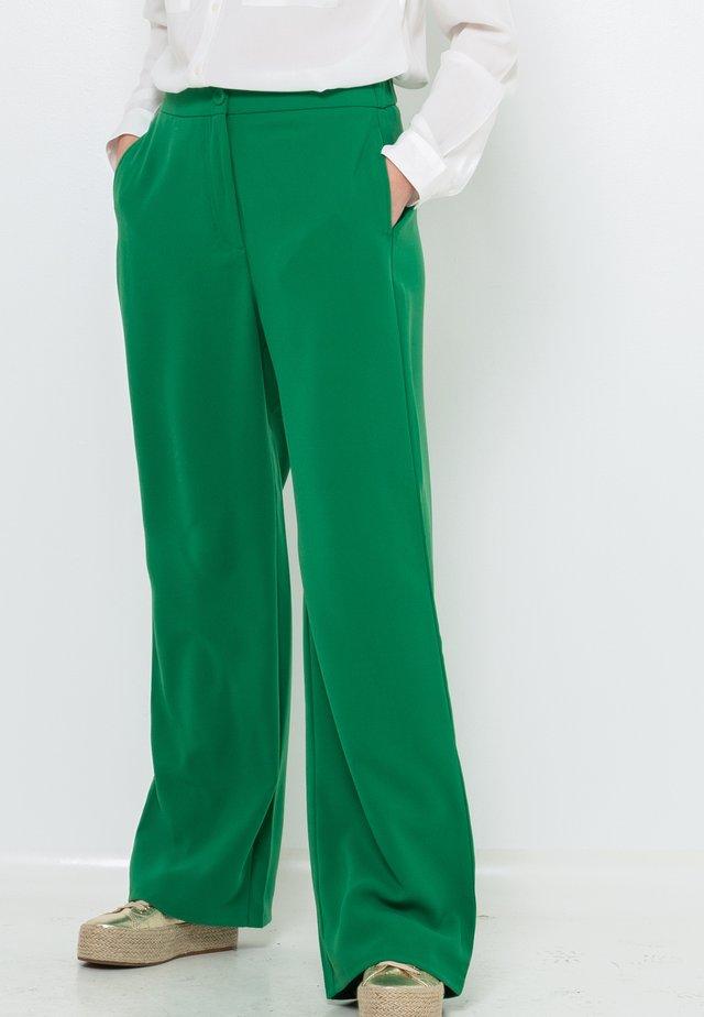 Pantalon classique - dark green
