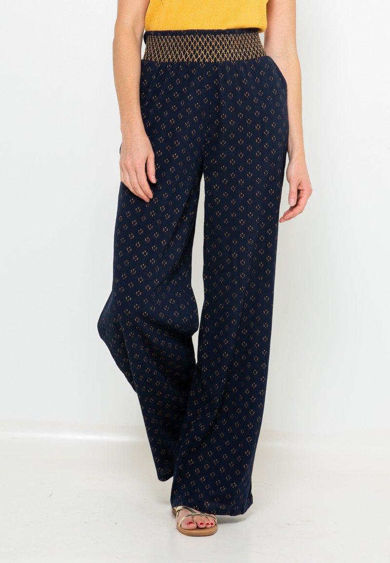 Camaïeu - Pantalon classique - bleu foncé / bleu marine