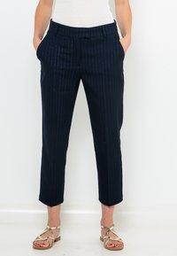 Camaïeu - FILS  - Pantalon classique - bleu foncé / bleu marine - 0