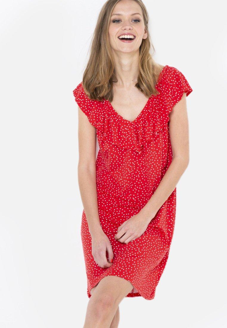 Camaïeu - Robe d'été - red