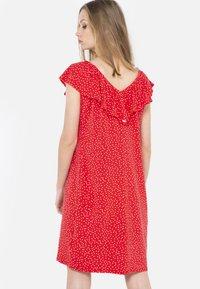 Camaïeu - Robe d'été - red - 2