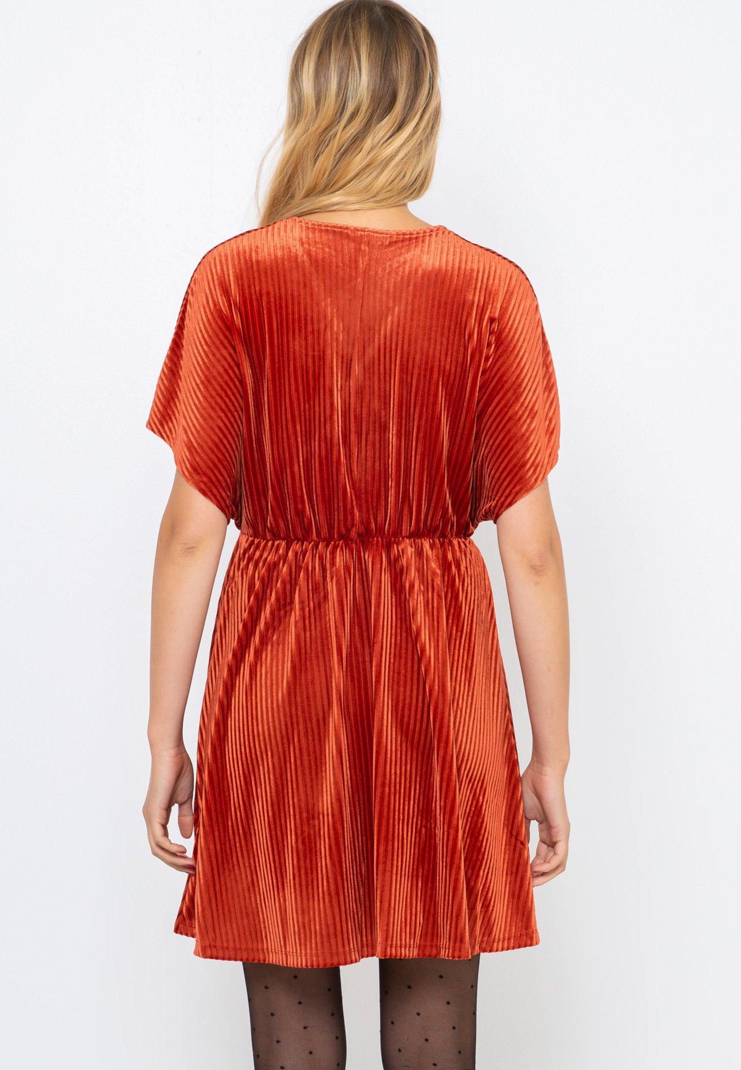 Camaïeu Robe d'été orange