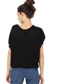 Camaïeu - T-shirt imprimé - black - 2