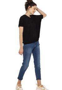 Camaïeu - T-shirt imprimé - black - 1