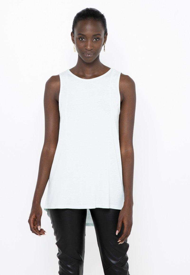 Camaïeu - Débardeur - white