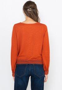 Camaïeu - T-shirt à manches longues - rust - 2