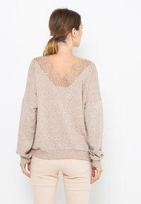 Camaïeu - T-shirt à manches longues - beige nude - 2
