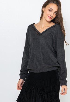 T-shirt à manches longues - dark grey/anthracite